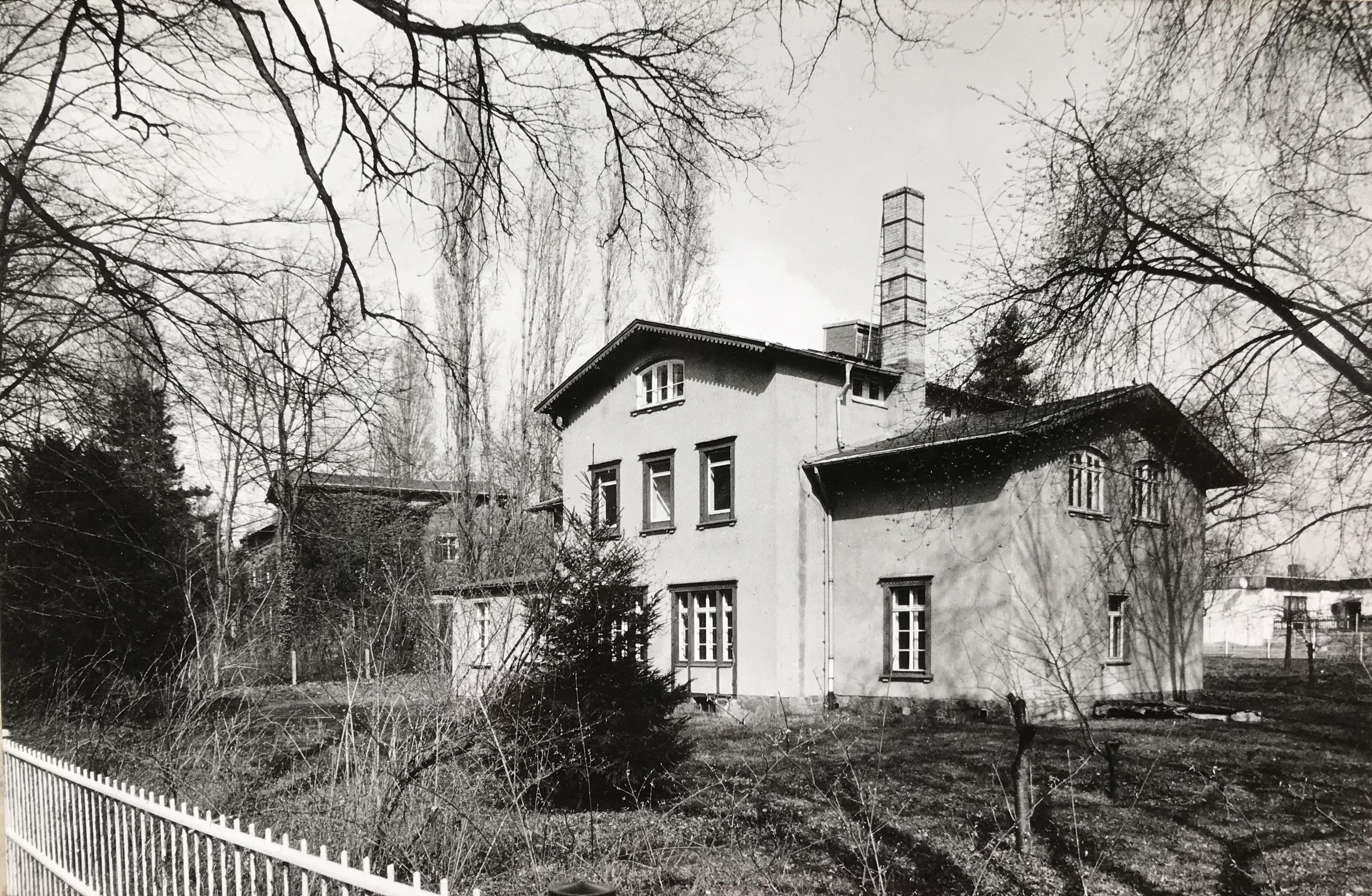 Villa in Abtnaundorf Anfang der 1990er Jahre