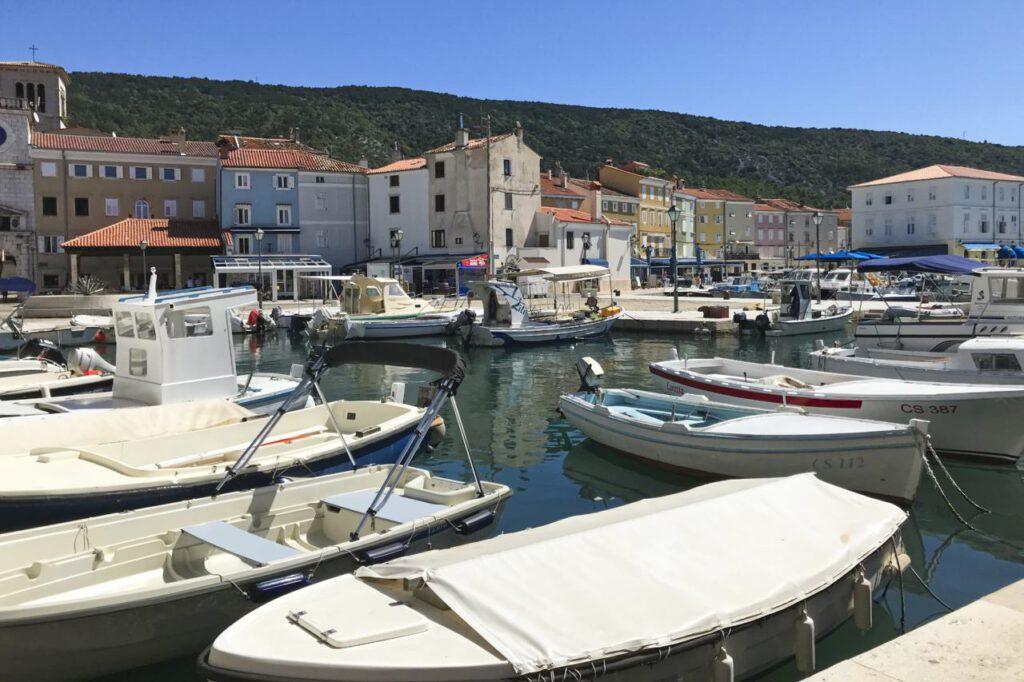 Hafen von Cres-Stadt