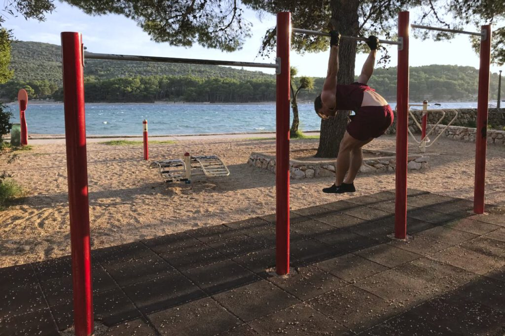 Street Workout in Cres-Stadt